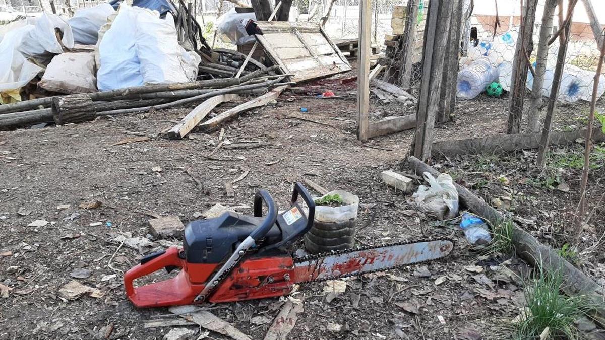 Odun keserken korkunç kaza, 22 yaşında hayatını kaybetti