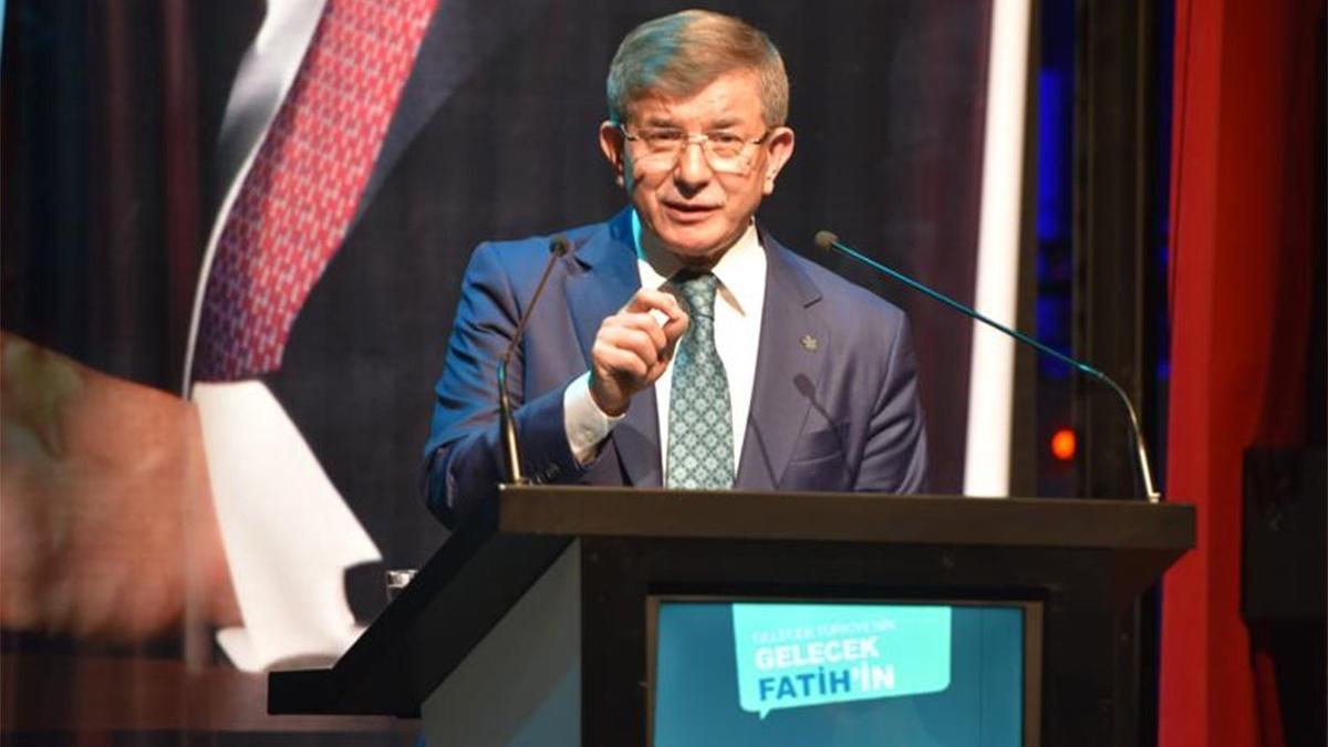 Ahmet Davutoğlu, Erdoğan'ın o sözlerine sert tepki gösterdi