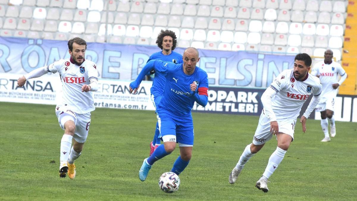 Trabzonspor sezonu bitirmiş
