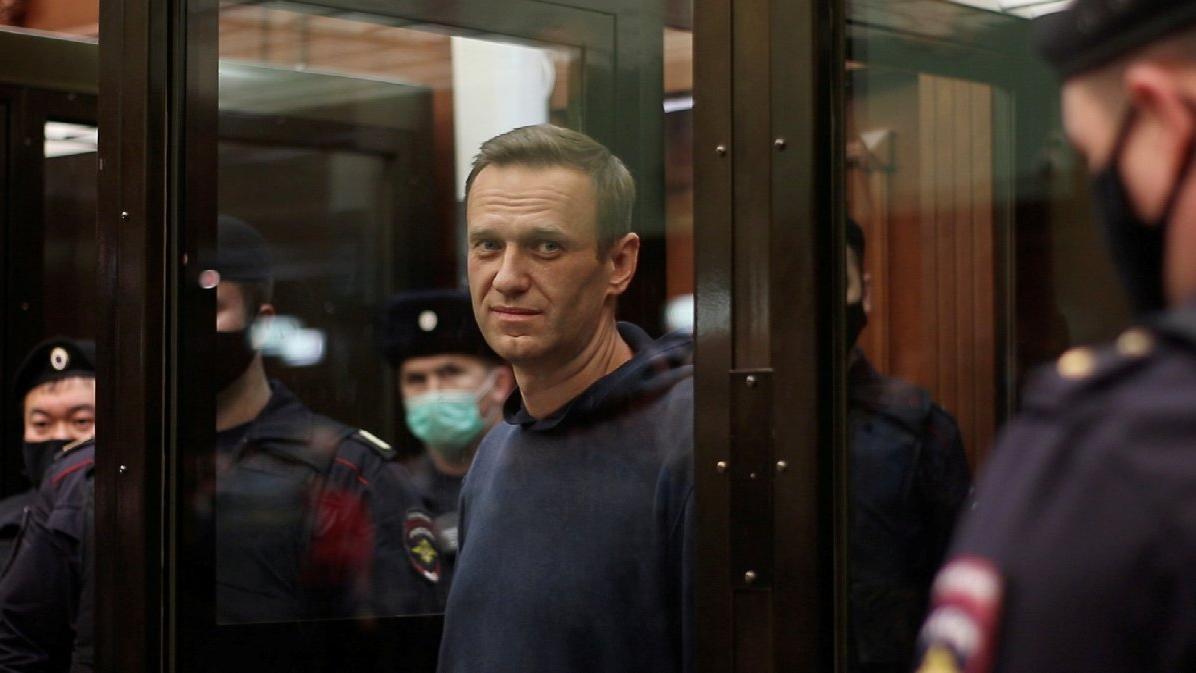 'Navalny esir kampında'