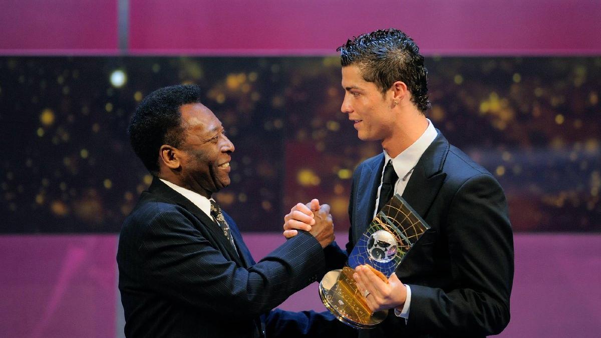 Pele sonunda gerçeği kabul etti! Ronaldo'ya tebrik