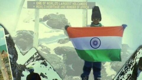 7 yaşındaki çocuk Kilimanjaro'ya tırmandı