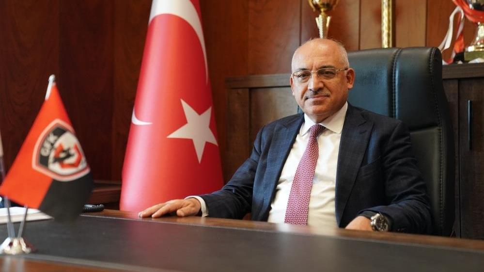 Gaziantep FK Başkanı Mehmet Büyükekşi gözünü ilk 5'e dikti