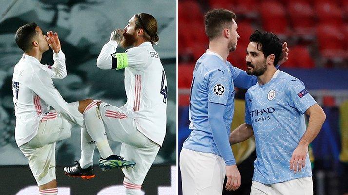 Şampiyonlar Ligi'nde gecenin sonuçları... Real Madrid ve Manchester City zorlanmadı
