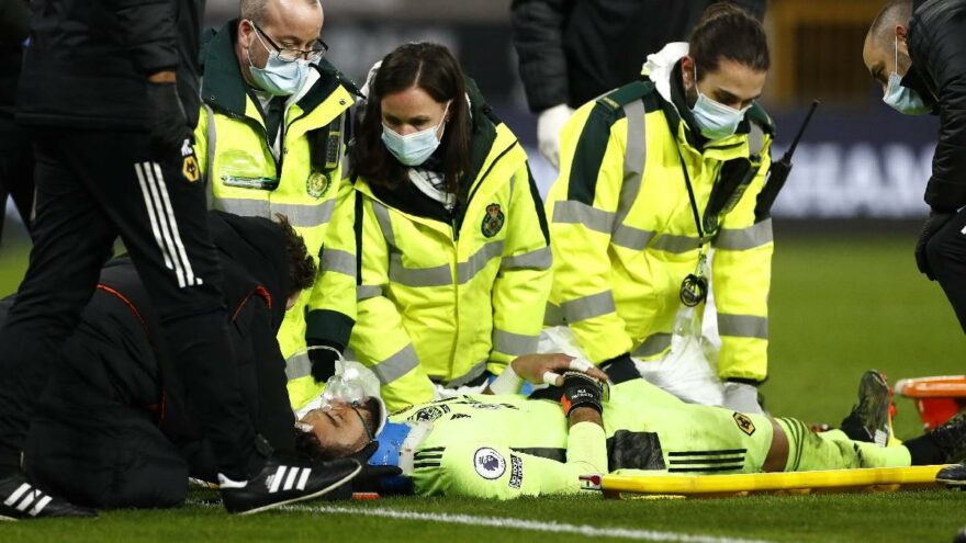 Wolverhampton kalecisi Rui Patricio için ilk açıklama: '48 saat önemli'