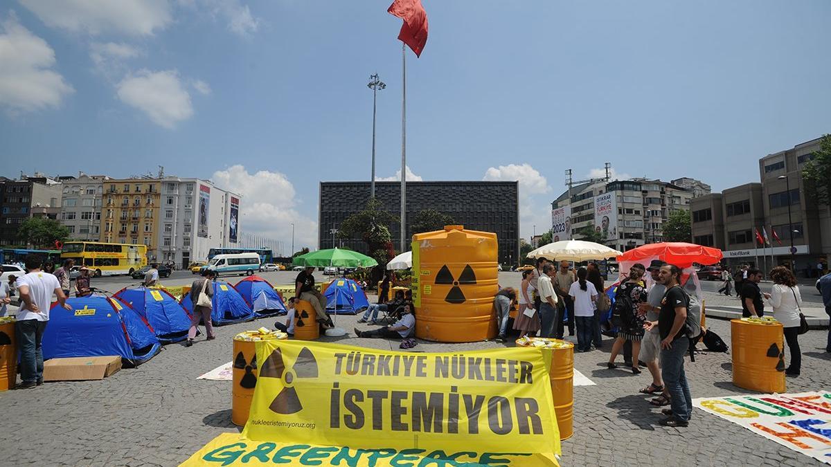 'Trakya'ya nükleer, İstanbul'un kucağına saatli bomba koymaktır'