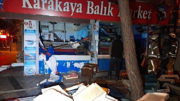 İstanbul'da sabaha karşı korkutan patlama