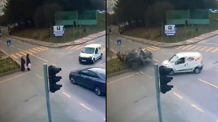 Samsun'da korkunç kaza: Anne ile kızı ölüm ayırdı