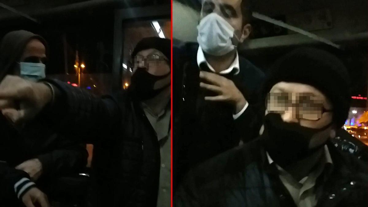 İETT otobüsünde maske tartışması: Hepiniz vatan hainisiniz
