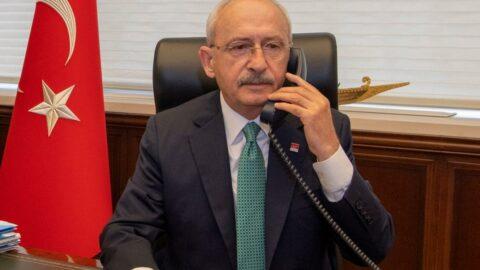 Kılıçdaroğlu'ndan Mithat Sancar'a telefon