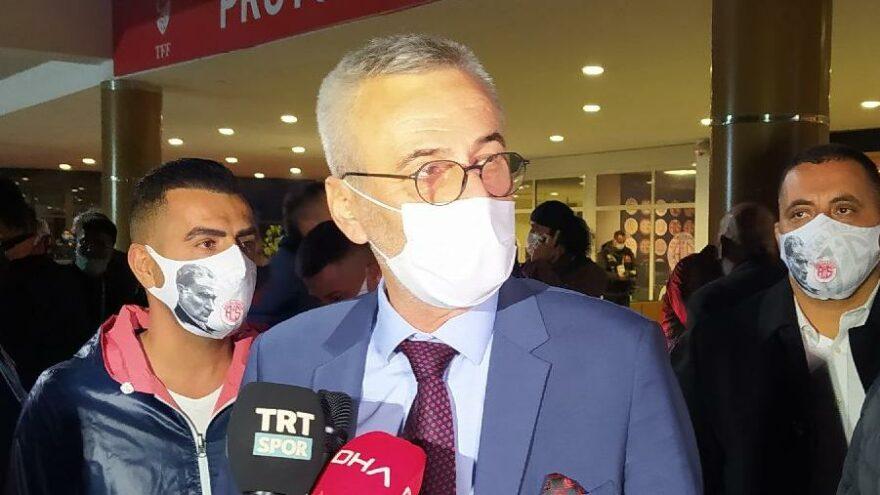 Antalyaspor Başkanı Mustafa Yılmaz şampiyonluğa inanıyor