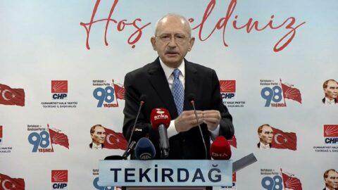 Kılıçdaroğlu'ndan 'HDP' açıklaması