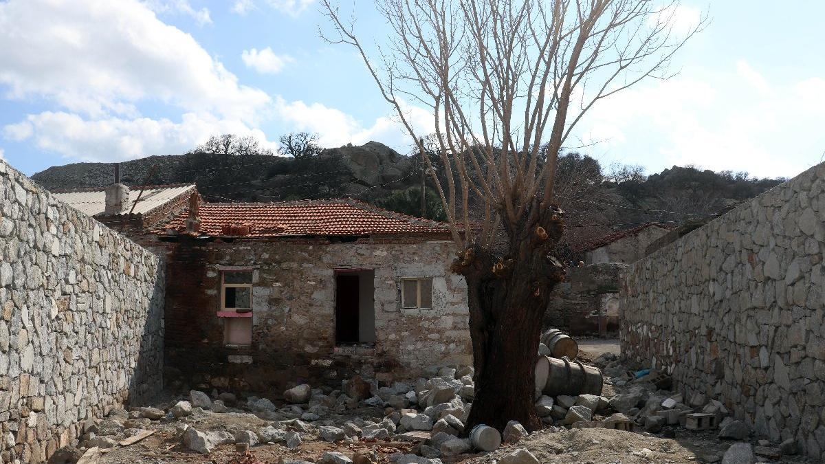 Çanakkale Savaşları kahramanı Yahya Çavuş'un evi restore edilmeye başlandı