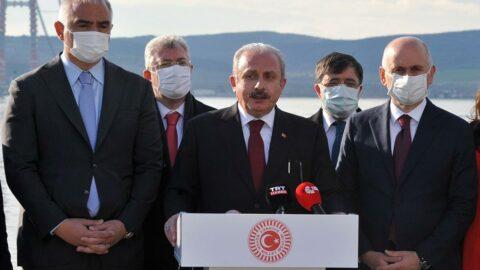 TBMM Başkanı Mustafa Şentop'tan HDP açıklaması