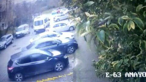 İstanbul'da dehşet anları: Yaşlı kadın 10 metre sürüklendi