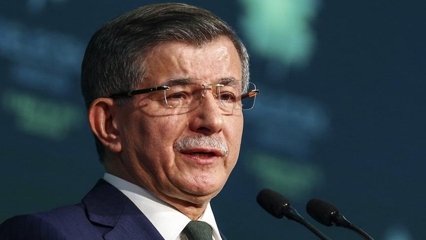 Ahmet Davutoğlu'ndan 'andımız' açıklaması: Devletin marşı İstiklal Marşı'dır