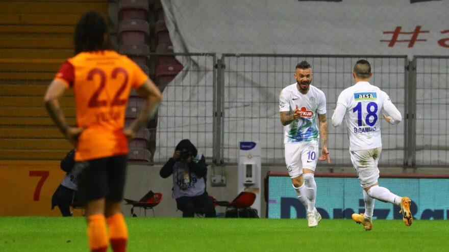 103 dakikalık çılgın maç! Galatasaray, Rizespor'a 4-3 kaybetti!