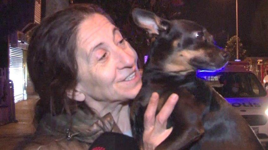 Kahraman köpek sahibini uyandırıp ölümden kurtardı