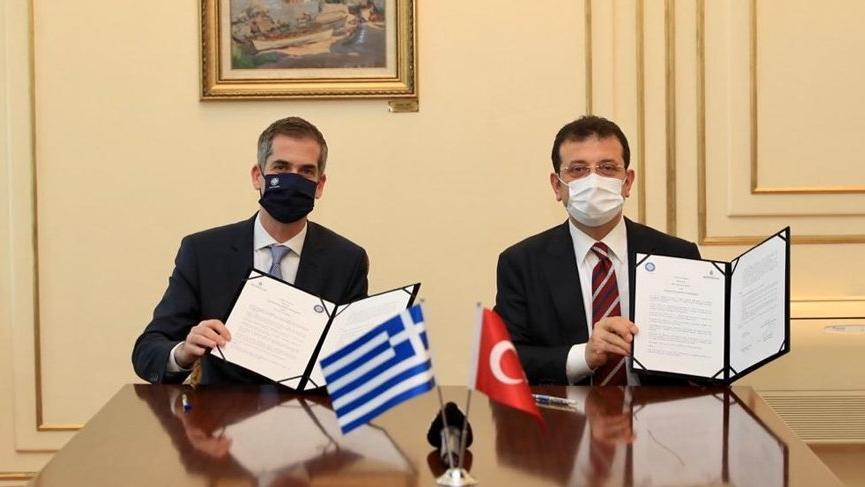 Ekrem İmamoğlu, Atina Belediye Başkanı ile görüştü: İki ülke arasında her şey çok güzel olacak