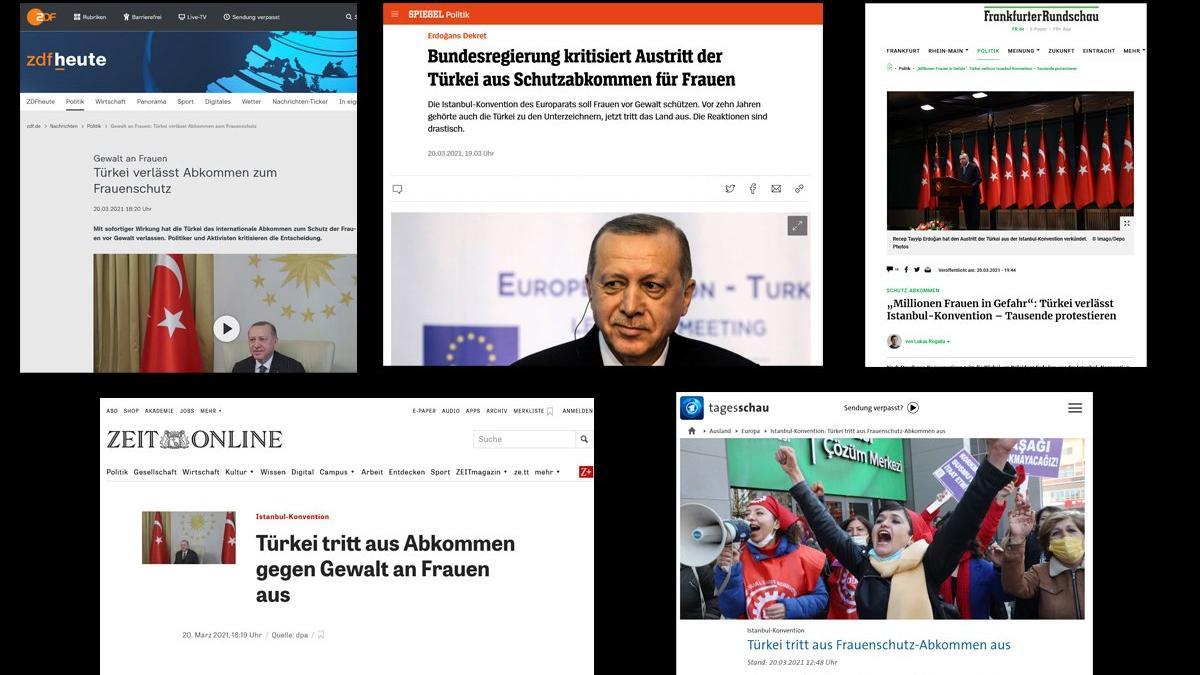 İstanbul Sözleşmesi'nin feshi Avrupa'da büyük yankı buldu
