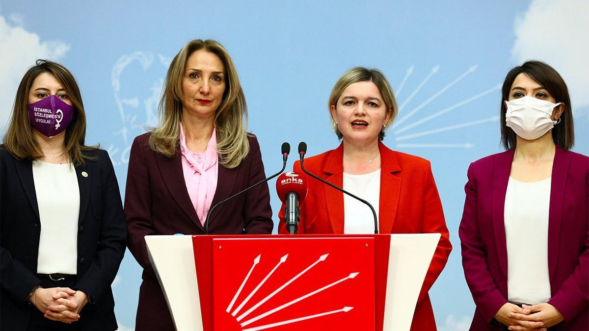 CHP'li kadın yöneticilerden, İstanbul Sözleşmesi kararına tepki
