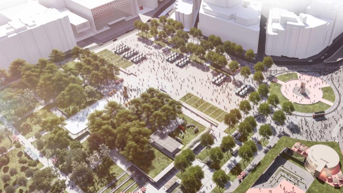 İBB'den Gezi Parkı açıklaması: Meydan projesi elbet yapılacaktır