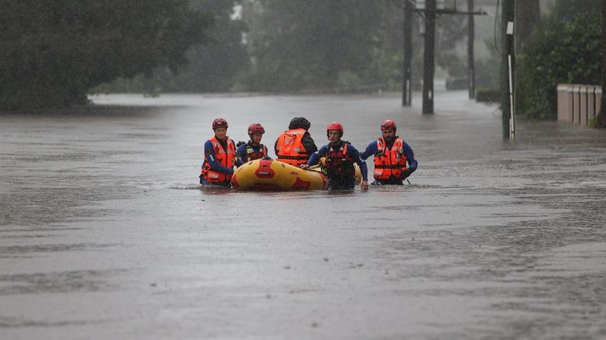 Sular bir anda yükseldi: Avustralya'da son 50 yılın en büyük felaketi
