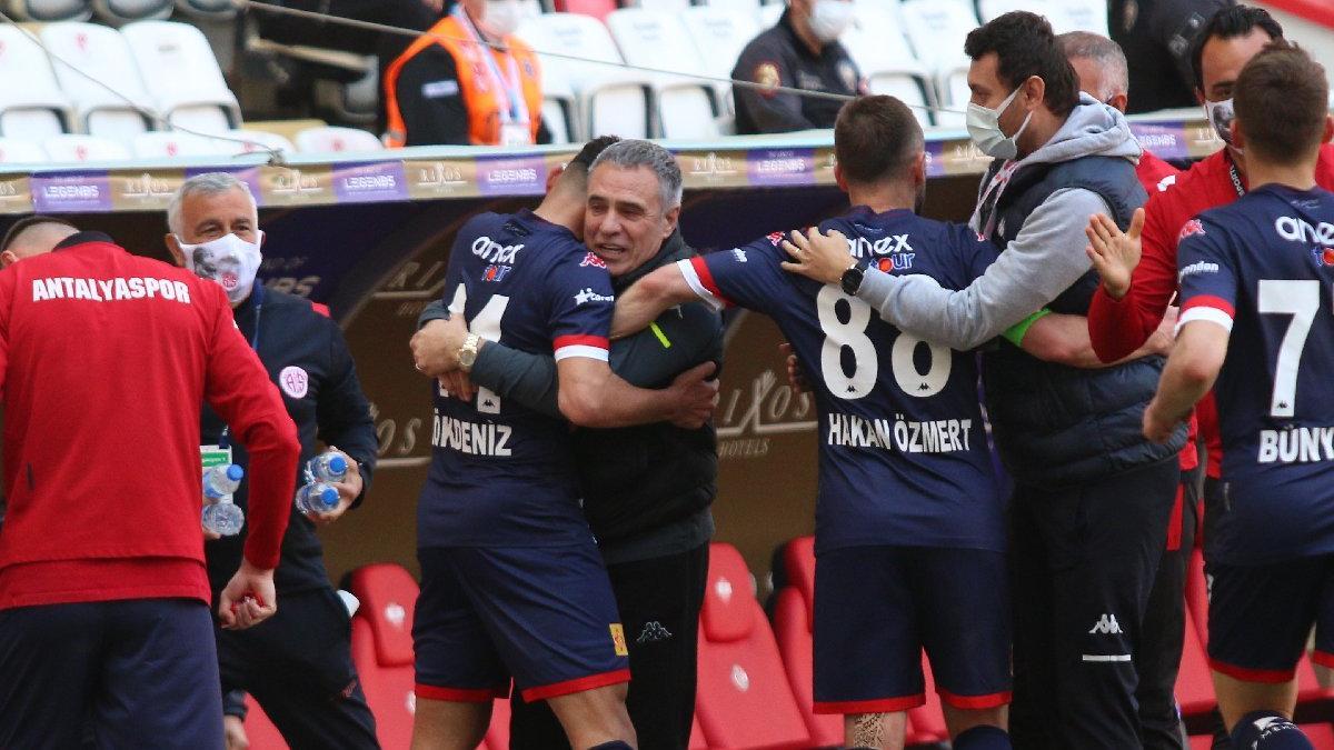 Antalyaspor-BB Erzurumspor maçında iki ayrı 45 dakika... Sekiz maçlık hasret son buldu
