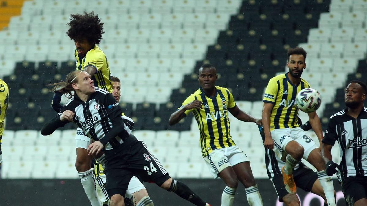 Fenerbahçe derbide Beşiktaş'tan 1 puanı son anda kurtardı!