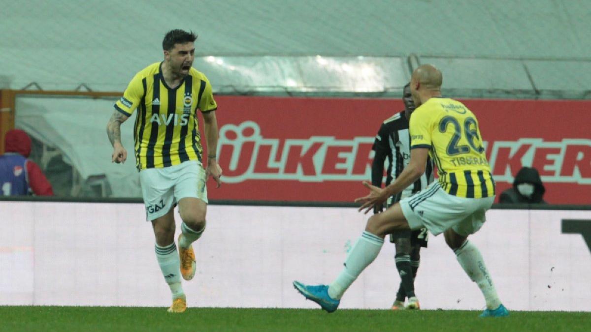 Fenerbahçe'de gecenin adamı Ozan Tufan! Beşiktaş'a attığı gol olay oldu...