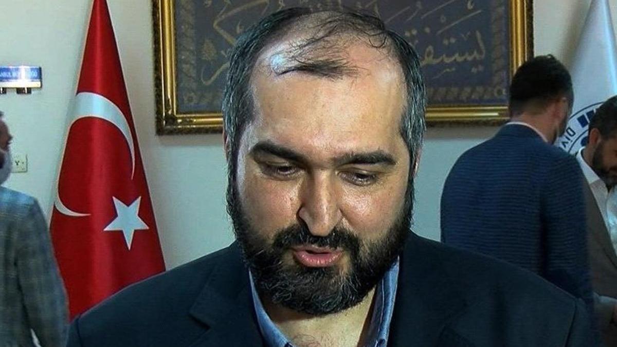 AKP'den Ayasofya Camii Baş İmamı Mehmet Boynukalın'a tepki