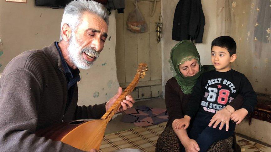 Otizmli çocuğun babasından yüreklere dokunan beste