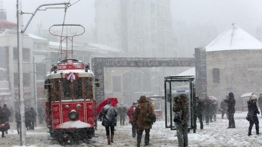 AKOM'dan İstanbul için Sibirya soğuğu ve kar yağışı uyarısı