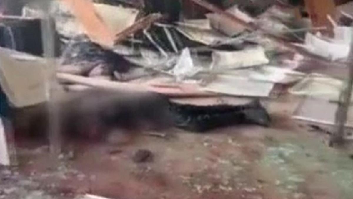 Çin'de patlama: 5 ölü, 5 yaralı