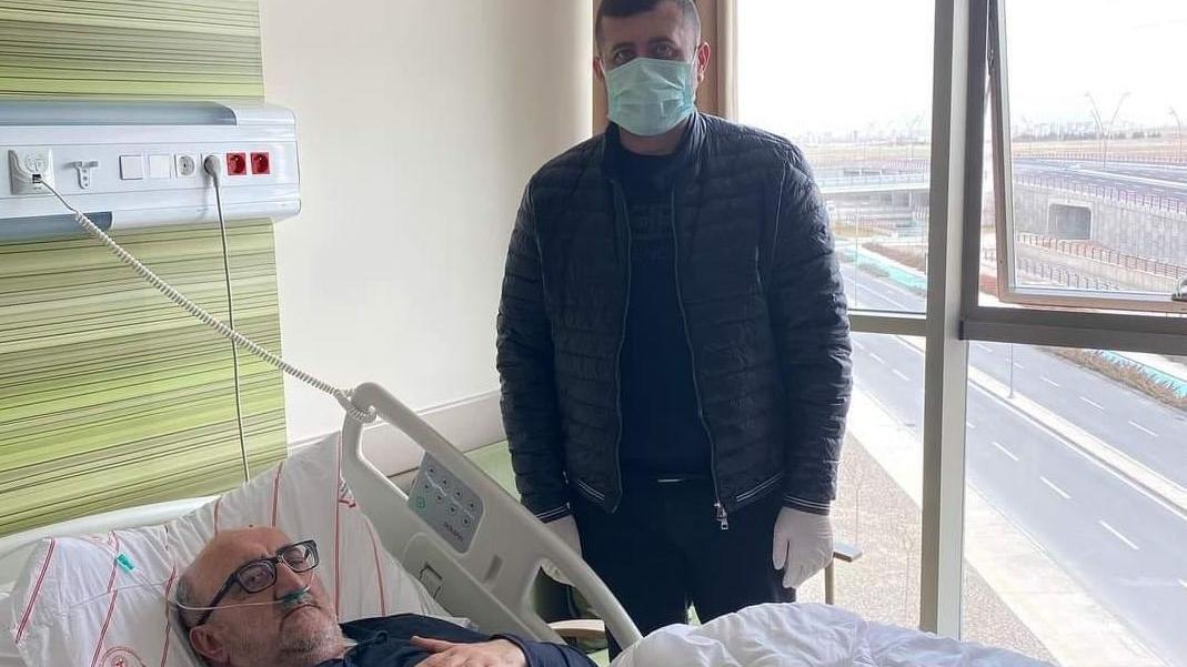 Corona tedavisi gören başkanı ziyaret eden MHP'li vekile tepki