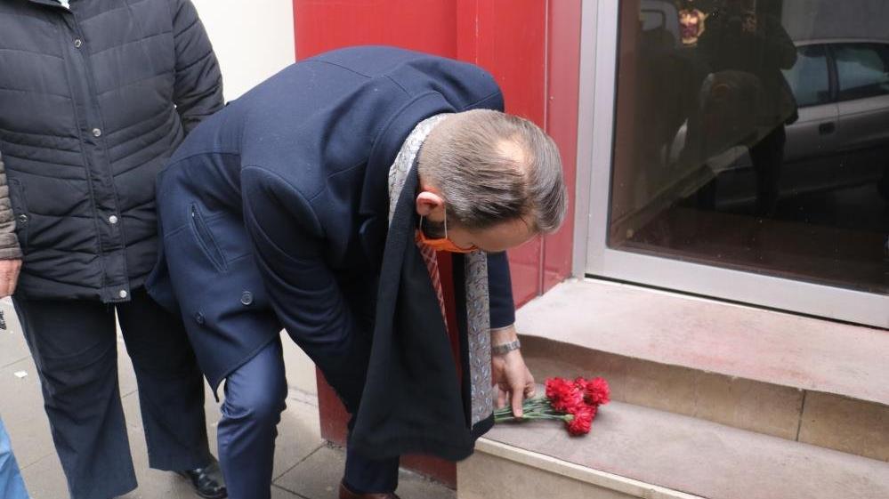 Hollanda heyeti Madımak Oteli'nde