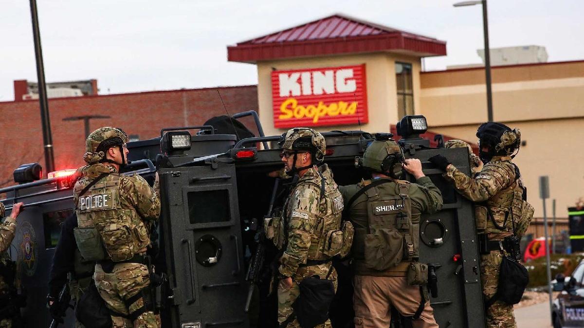 Son dakika... ABD'de süpermarkete silahlı saldırı: 10 ölü
