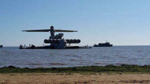'Hazar Denizi Canavarı' Moskova'ya götürüldü