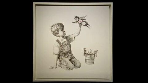 Banksy'nin corona kahramanları eserine rekor fiyat: 183 milyon TL'ye satıldı