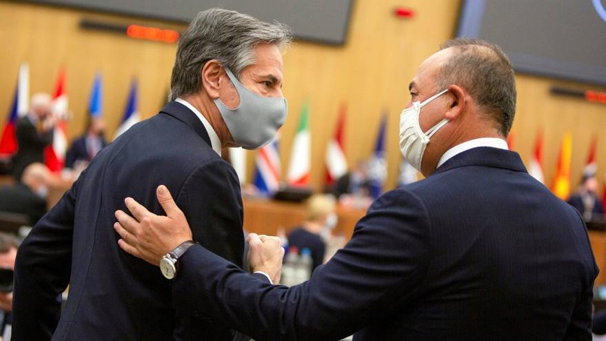 ABD ile yakın temas: 3 günde 3 görüşme, Çavuşoğlu ve Blinken bir araya geldi