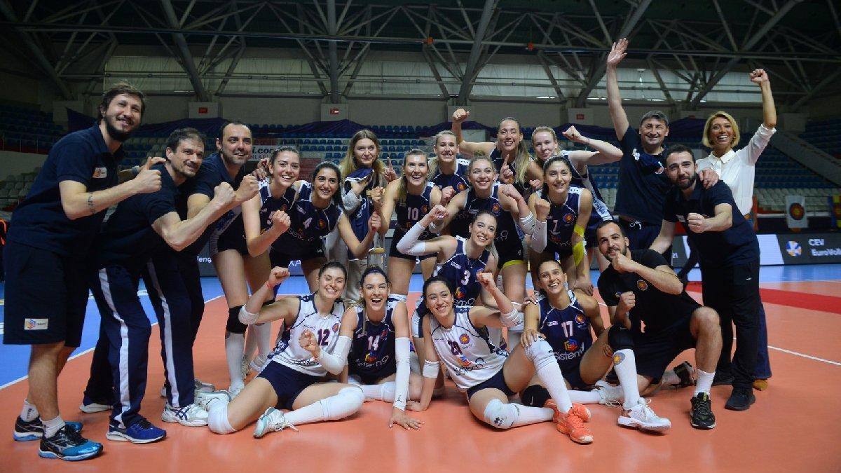 Sistem9 Yeşilyurt, CEV Challenge Kupası'nda şampiyon oldu