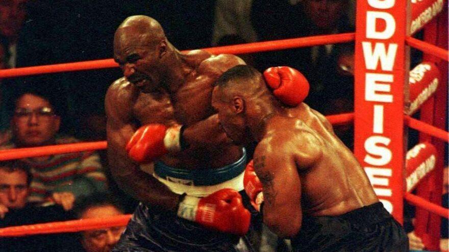 Efsaneler 24 yıl sonra bir kez daha karşı karşıya… Mike Tyson-Evander Holyfield
