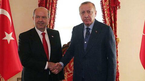 Ersin Tatar'dan Erdoğan'a tebrik mesajı