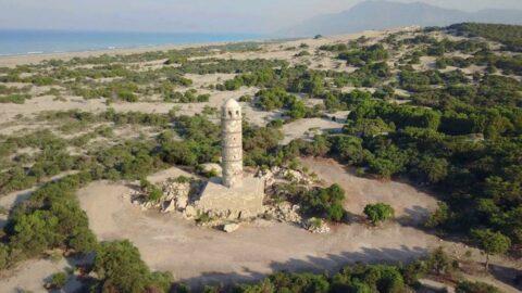 2 bin yıllık Patara Feneri'ne yapay zeka