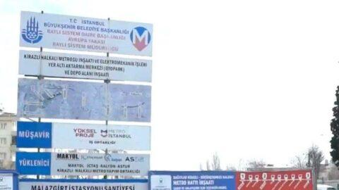Kredi bulundu, Kirazlı-Halkalı metro hattında çalışmalar yeniden başlıyor