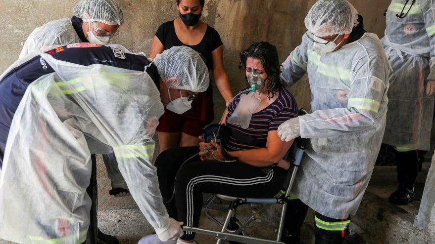 Brezilya'da corona virüsünden ölenlerin yaş ortalaması düşüyor