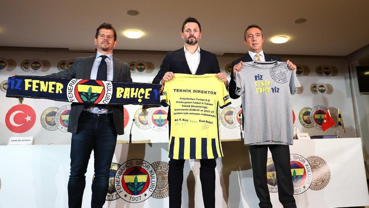 Fenerbahçe'de Erol Bulut ile yollar ayrıldı! Emre Belözoğlu...