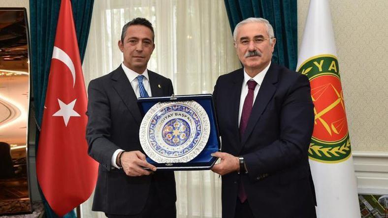 Fenerbahçe'den Yargıtay'a tam kadro ziyaret