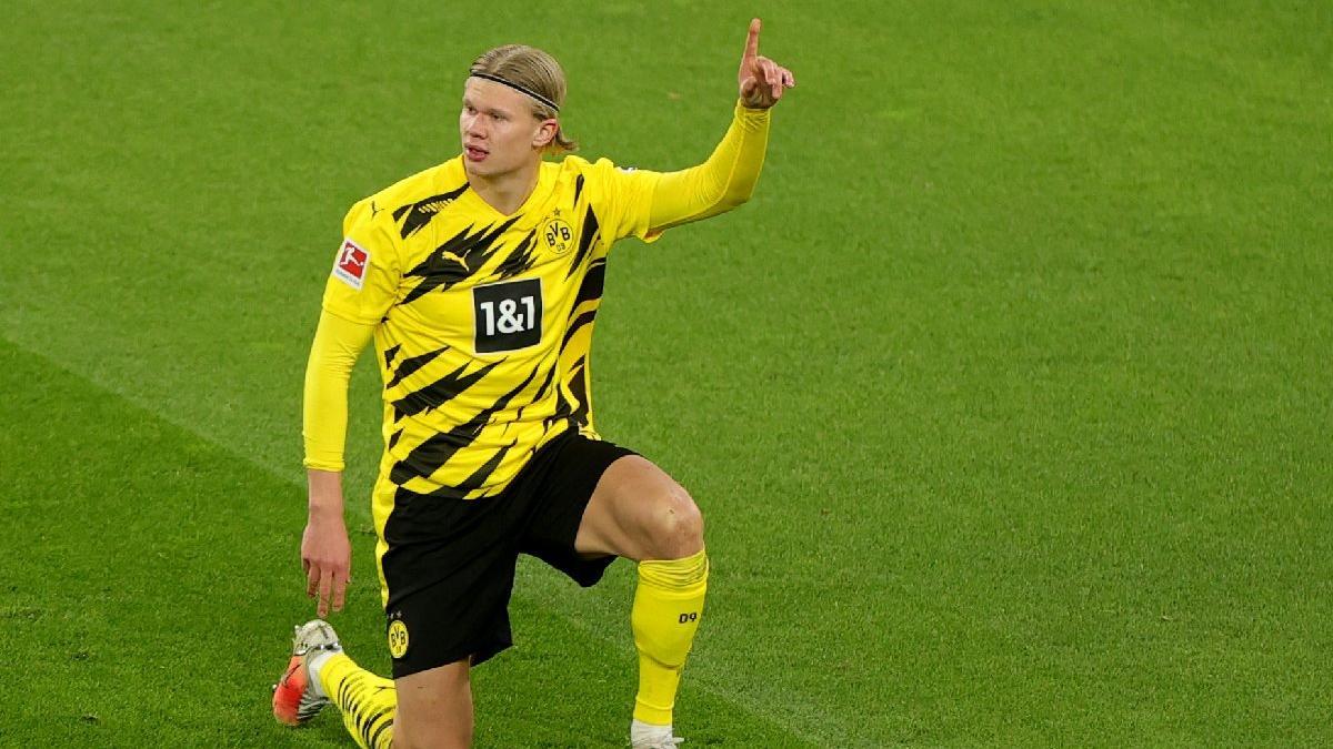 Borussia Dortmund'un Erling Haaland için istediği bonservis bedeli