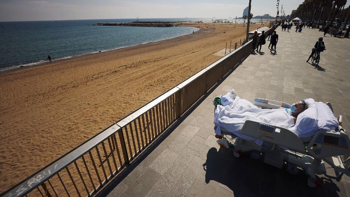 Yoğun bakımdan deniz kenarına: 114 gün sonra gün ışığına çıktı